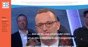 Jens Spahn bei maybri illner Spezial